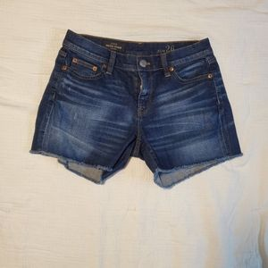 Womens size 26 J. CREW shorts